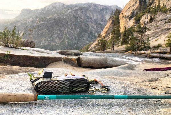 Lightweight Backpacking Fishing Kit for Backcountry Fishing
